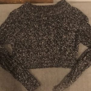 Knitz for love & lemons cropped sweater size S